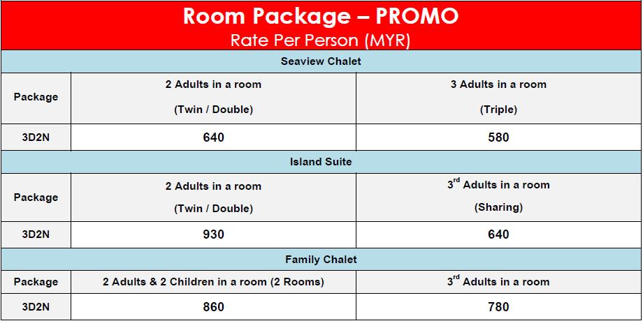 Rimba Resort Room Package – PROMO