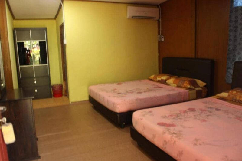 Samudra Beach Chalet - Family Room